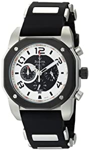Bulova Men's 98B139 Marine Star Black Dial Watch