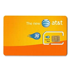 AT&T Single SIM Card UMTS 3G UICC-B  (Version C)