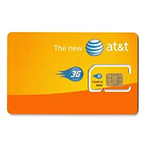 AT&T Single SIM Card UMTS 3G UICC-B  (Version C)