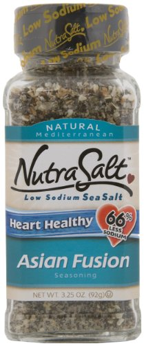 NutraSalt Asian Fusion, 2.5-Ounce Containers (Pack of 6)
