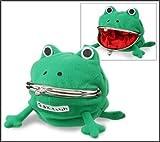 NARUTO -ナルト- カエルのがま口(ぐち) うずまきナルト かわいい蛙の小銭入れ かえる 財布 サイフ コインケース コスプレ小道具 「なるとさいふ」