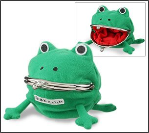 The 'wallet becomes' wallet wallet coin case cosplay props frog coin purse pouch of frog cute frog (complaining) Uzumaki Naruto - NARUTO - Naruto