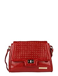 Lino Perros Women's Sling Bag (Red) - B00OB8RYWY