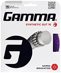 Buy Gamma Synthetic Gut 16G Tennis String by Gamma