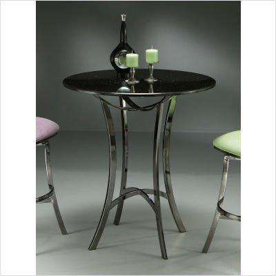 Black Friday 2010 Deal On Pastel Furniture Paris 36u2033 Pub Table In Black  Nickel With Black Granite Top. Price : Cheap ...