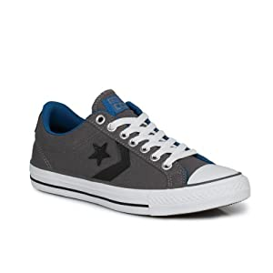 Converse Star Player EV OX Unisex Charcoal Trainers-UK 3