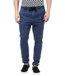 Hypernation Blue Color Denim Jogger