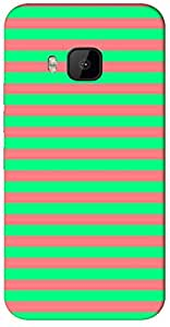 Timpax protective Armor Hard Bumper Back Case Cover. Multicolor printed on 3 Dimensional case with latest & finest graphic design art. Compatible with HTC M9 Design No : TDZ-23099