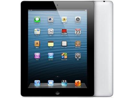 ★新品Apple 第4世代 iPad Retinaディスプレイモデル Wi-Fiモデル 16GB MD510J/A ブラック MD510JA