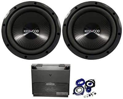 Deals Package: 2 Kenwood Kfc-w2513ps 10 4 Ohm Car Subwoofer with