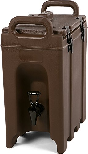 Carlisle LD250N01 Cateraide Insulated Beverage Server, 2.5 gal, Brown (Disposable Hot Beverage Dispenser compare prices)