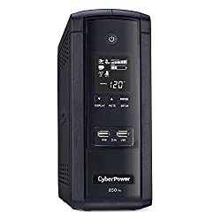 CyberPower BRG850AVRLCD UPS 850VA/510W 10 Outlets AVR LCD USB Ports Mini Tower