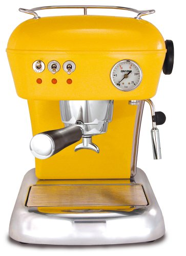 Ascaso DR.112 Dream 16-Bar-Pump Espresso Machine, Sun Yellow (Ascaso Dream compare prices)