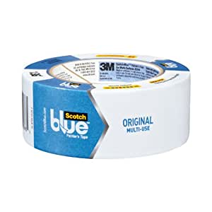 ScotchBlue Painter's Tape, Multi-Use, 1.88-Inch by 60-Yard, 3-Roll