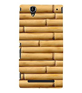 EPICCASE Bamboo wall Mobile Back Case Cover For Sony Xperia T2 (Designer Case)