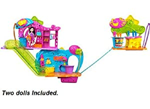 Polly Pocket Wall Party Polly Plaza 3 Shops Playset