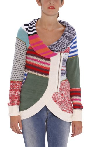 Pull Over Desigual Pruit Couleurs