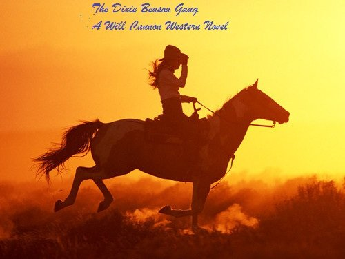 Free Kindle Book : The Dixie Benson Gang  A Will Cannon Western Adventure Novel