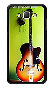 """Humor Gang Guitar On A Wall - Music Printed Designer Mobile Back Cover For """"Samsung Galaxy j7"""" (3D, Glossy, Premium Quality Snap On Case)"""