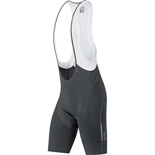 GORE BIKE WEAR, Men´s, Short cycling thermo tights with suspenders, Padded, GORE Selected Fabrics, OXYGEN Partial Thermo short+, Size XL, Black, WWOXMS Gore Cycle Shorts