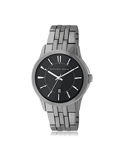 Geoffrey Beene Men's GB8069GU Grey/Black Alloy Watch
