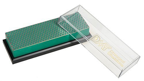 DMT W6EP 6-Inch Diamond Whetstone Sharpener - Extra-Fine With Plastic Box