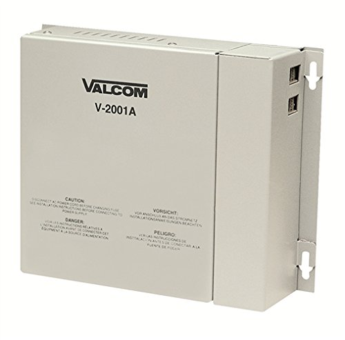 Valcom V-2001A One Way 1 Zone Enhanced Page Control with Built In Power