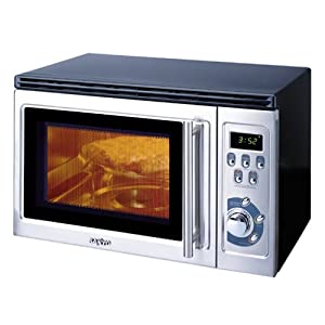 combination toaster oven and microwave oven