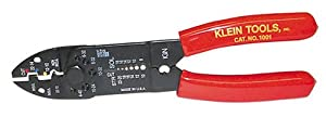 Klein Tools 1001 Multi-Purpose Electrician's Tool 8-22 AWG Red 8 1/2 Inches