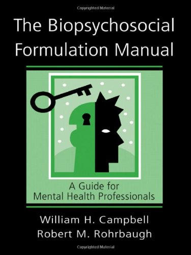 The Biopsychosocial Formulation Manual: A Guide for Mental Health Professionals (Biopsychosocial Model compare prices)