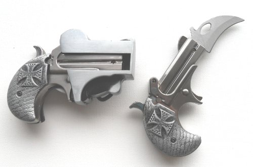 Biker's Gift - Gun Holster with Lighter & Knife Belt Buckle