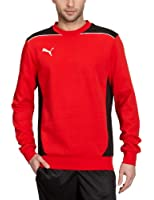 Puma Foundation Sweat Crewneck Sweater Red / Black