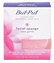Buf-Puf Reusable Facial Sponge, Extra Gentle, - 1 Ea