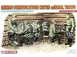 Dragon German Communication Center w/ Signal Troops 1:35 Quartermaster Series