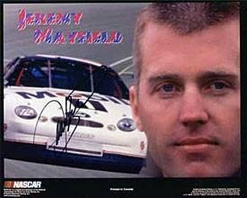 Signed Jeremy Mayfield Photo - 8x10 - Autographed NASCAR Photos by Sports Memorabilia