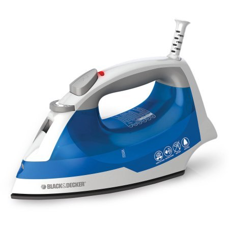 Black & Decker Easy Steam Iron, Smart Steam technology True Glide Soleplate glides easily over all fabric types Fabric guide (Iron) (Dg5030 Rowenta compare prices)