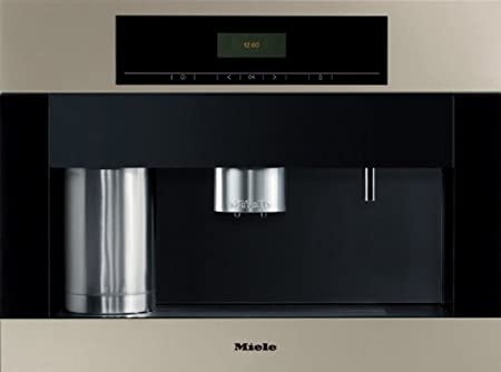 Miele Built-in Whole Coffee Bean System with Grinder, Milk Tank, & Frother