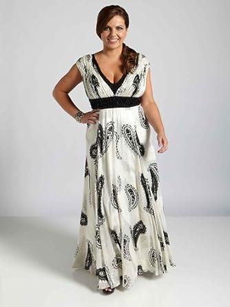 Plus size evening dress in uk