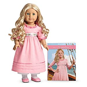 American Girl Caroline Doll & Paperback Book
