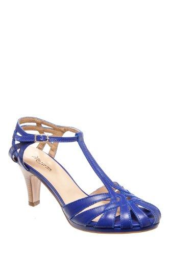 Mariana Sabrina Dressy Mid Heel Sandal - Royal Blue