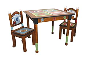 Fantasy Fields - Lil' Sports Fan Table & Set of 2 Chairs