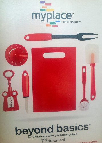 Myplace Tools for My Space, Starter Kitchen Tool Set
