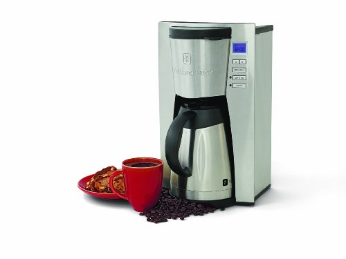 Farberware 5 Cup Coffee Maker Filter Size : Wolfgang Puck WPTPCM010 12-Cup Programmable Coffeemaker With Stainless-Steel Thermal Carafe ...