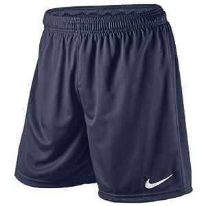 Nike Short de football Park Knit avec slip intégré pour homme Bleu Bleu marine 54