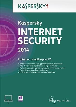 Kaspersky Internet Security 2014 - Monoposte - 1 an [Téléchargement]