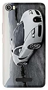 WOW Printed Designer Mobile Case Back Cover For Lava Iris X8