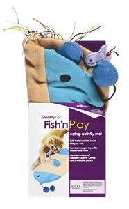 Amazon Com Smartykat Fish N Play Catnip Activity Cat