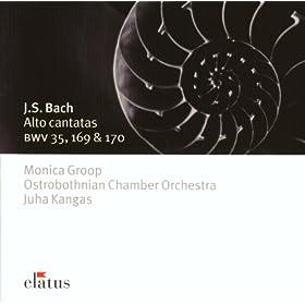 """Cantata BWV 35 : Geist und Seele wird verwirret - 7. Aria """"Ich w�nsche nur, bei Gott zu leben"""""""