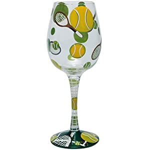 Discontinued Lolita Glassware Wine - Tennis