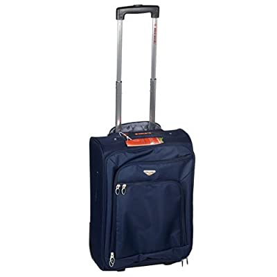 "20"" Ultra Light Travel Trolley Case Suitcase Navy from XS-Stock.com Ltd"
